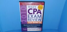 2010 Wiley CPA Exam Review Test Bank CD ROM Business Environment Concepts B403