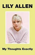 Lily Allen - My Thoughts Exactly Hardback Cover Book New Release 2018