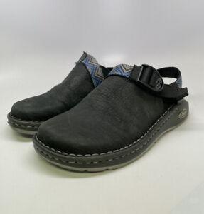 Chaco ToeCoop Adjustable Slides Strap Vibram Leather Sandals Women's Size 7