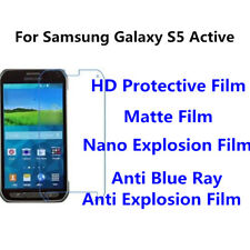3pcsFor Samsung Galaxy S5 Active High Clear/Matte/Anti Blue Ray Screen Protector