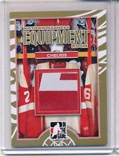 2012/13 ITG MOTOWN MADNESS CHRIS CHELIOS GAME/USED GLOVE GOLD VERSION /10