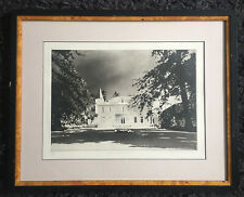 "NORMAN ACKROYD RA 1938 ""Chateau Cheval Blanc"" large Limited Ed ETCHING ed 34/150"