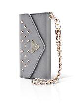 Pochette Guess Clouteee grise Clutch pour iPhone 6 4/7 pouces