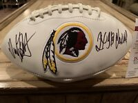 Dexter Manley Autographed/Signed Football JSA Washington Redskins