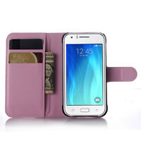 PU Leather Card Wallet Kickstand Flip Case Cover For SamSung GALAXY J7 2015 J700