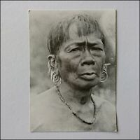A Murut Man c. 1909 George Cathcart Woolley Collection 1993 Postcard (P404)