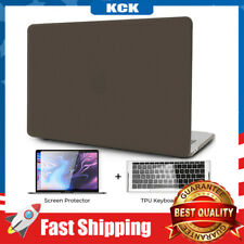 MacBook Pro 13Inch Case Touch Bar Laptop Minimalist Thin Hard Shell Cover Black