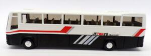 Joal 1/50 Scale Model Bus 149 - Volvo Coach Jetways - White/Black