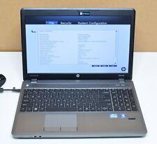 HP ProBook 4540s Laptop 2.50GHz Intel Core i5-3210M 4GB RAM No HDD No Battery