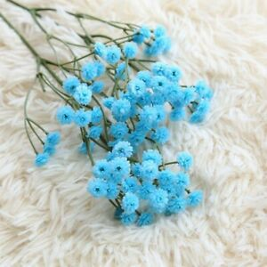 Artificial Gypsophila Soft Glue Fake Flowers Bouquet Wedding/Home Decoration
