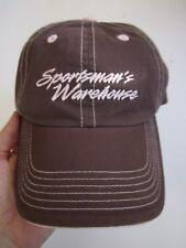 SPORTSMAN'S WAREHOUSE, 20 YEARS, BROWN & PINK WOMEN'S HAT CAP, ADJUSTABLE, EXC!