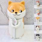 New Cat animal dog cute kawaii shape ceramic mugs cups coffee set tea gift white