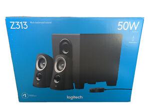 Logitech Z313 Speaker System with Subwoofer - Black (980000414)