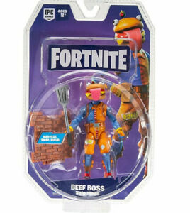 """SEALED Fortnite BEEF BOSS Solo Mode - Harvest, Snap. Build Action Figure 4"""""""