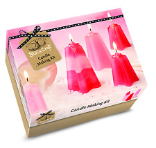 House of crafts candle making starter craft kit ensemble cadeau fait 4 bougies SC010
