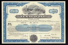 OIL : Texaco Inc ( now Chevron Texaco White Plains) old bond  USD 25,000.00 1976