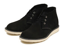 Red Wing Heritage 3147 Men's Work Chukka Boot (Black Suede Leather)