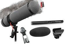 Sennheiser MKE 600 Shotgun Microphone W/ Rycote Super-Blimp NTG Windshield Kit