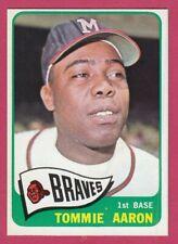 1965 Topps # 567 Tommie Aaron -- Milwaukee Braves -- Box 722-822