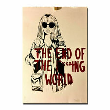 20A168 The End of the Fucking World TV Series Art Poster Silk Deco 12x18 24x36
