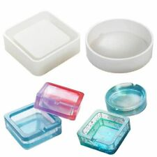 Silicone Ashtray Mold Resin Jewellery Making Mould Casting Epoxy DIY 2-Type Tool