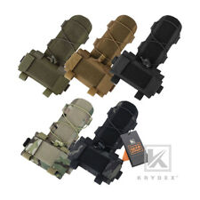 KRYDEX MK1 Helmet Counterweight Pouch Battery Case Bag with Cord Lock Retainer