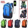 New Travel Backpack With USB Charging Outdoor Sports Camping Hiking Rucksack Bag