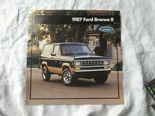 1987 Ford Bronco II brochure
