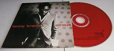 LENNY KRAVITZ - 'CIRCUS' - PROMO CD SINGLE