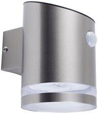 Smartwares luz solar de pared con sensor PIR plata 5000.701