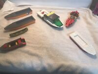 """LEGO City  """"Xtreme"""" speed boat, Police boat & Others Lot Of 7 Please See Photos"""