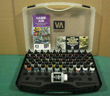 Game Air Fantasy Airbrush Acrylic Paint by Vallejo Set 47 Colours 13 Aux 72872
