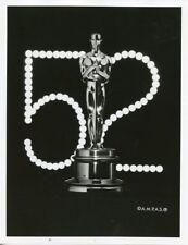 OSCAR STATUE PORTRAIT 52ND ANNUAL ACADEMY AWARDS ORIGINAL 1981 ABC TV PHOTO