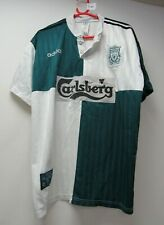 Liverpool FC Football Club 1995-96 Away Shirt Size L Adidas - WAR C44