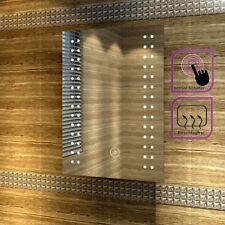 LED Spiegel Mit Energiesparender LED Beleuchtung Für Badezimmer Kaltweiß  IP44