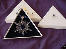 swarovski christmas star  ornament  1997    kerstster  1997