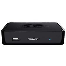 Mag 254 IPTV Multimedia Streamer Set Top Box HDMI USB Full HD 150mbit WLAN