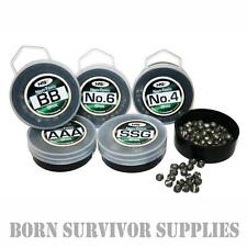 Non-Toxic Split Shot Lead Weights - Mini Refill Tubs Pot Survival Fishing Kit