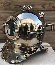 "Diving Helmet 18"" Anchor Engineering Diving Helmet Mark V Deep Sea Divers Helmet"