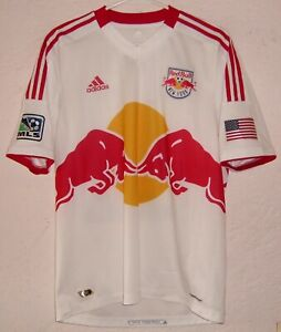 MLS New York Red Bulls 2012 Kenny Cooper Match Worn Formotion Home Soccer Jersey