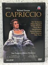 STRAUSS Capriccio KIRI TE KAWANA Tatiana Troyanos SAN FRANCISCO Opera KEENLYSIDE