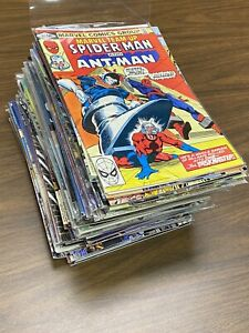 Collection 78 Comic Books Key Issue Marvel Team-Up  103: 2nd Appear Taskmaster
