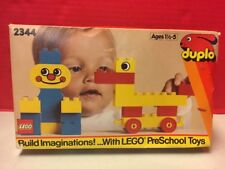 Lego Duplo 2344 Circus Preschool Basic Building Toy Set 1989 Used With Box