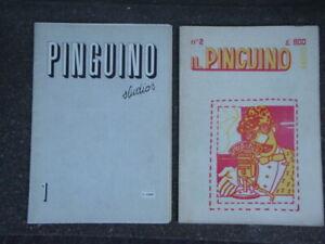 STAMPA ALTERNATIVA IL PINGUINO n. 1 e 2 RIVISTA 1980