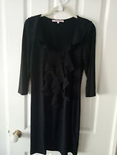 Review Little Black Dress Ruffle 3/4 Sleeve - Size 12