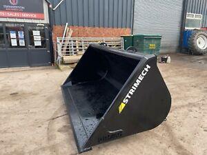 Strimech ProAg 8ft 1.7m3  Matbro Cone and Pin  Loadall / Telehandler Bucket