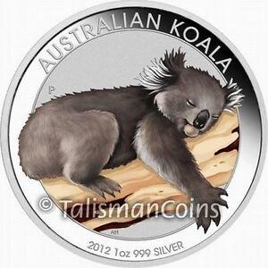 Australia 2012 Outback #1 Koala Philadelphia Coin Show Special $1 Silver Color