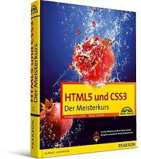 HTML5 und CSS3 Meisterkurs, Markt & Technik NEU