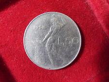 REPUBBLICA ITALIANA 50 LIRE 1958 VULCANO RARA cod. REPUBBLICAITALIANA-9