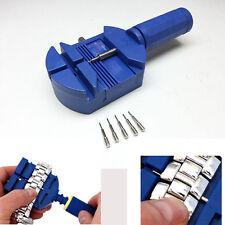 Armband-Uhr-Band-Bügel-Verbindungs-Remover-Reparatur-Werkzeug + 5 Extra Pins